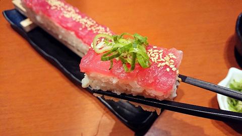 マグロユッケ寿司