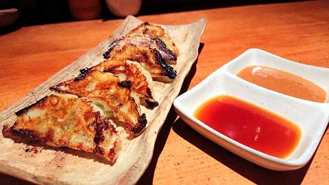 九条ねぎの焼き餃子