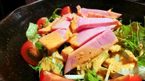 赤まるサラダ