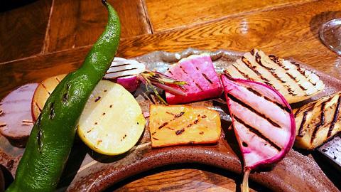 十種の彩り旬野菜