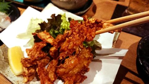鶏ナンコツの唐揚げ