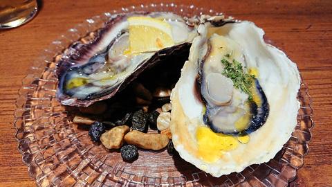 生牡蠣とヴァポーレ