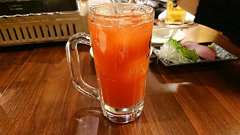 トマト酢ソーダ