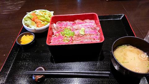 熟成和牛のステーキ重
