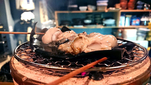 牡蠣の昆布焼