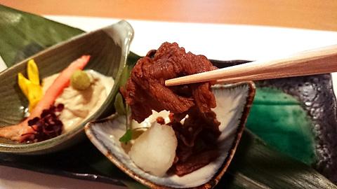 神戸牛の有馬煮