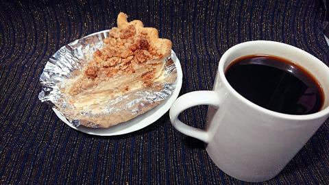 コーヒーとパイ