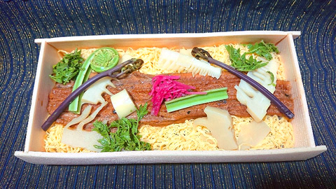 穴子錦糸弁当