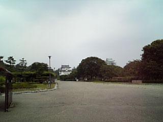 名古屋城一歩手前