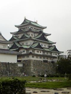 名古屋城。ミニチュアみたい