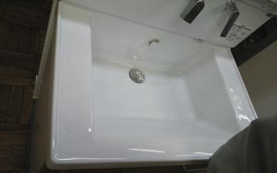 TOTO洗面化粧台 サクア ボウル形状の変更
