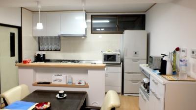 キッチンリフォーム完成です!使い心地も良いようです(^^)