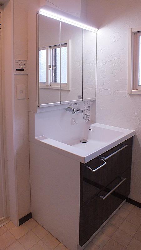 洗面化粧台 TOTOオクターブ きれい除菌水