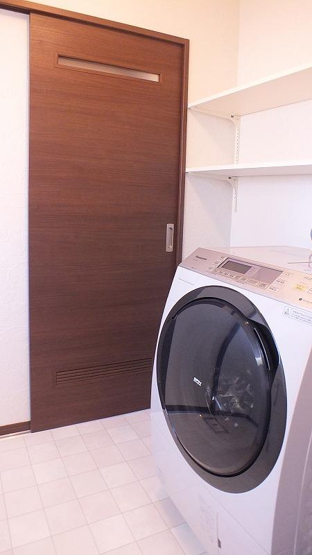 ドラム式洗濯機で空間イメージがUP