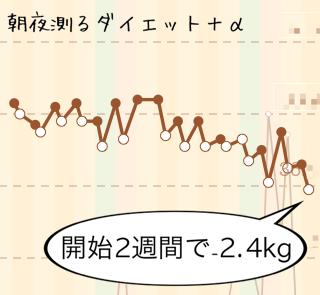 201307ダイエットグラフ