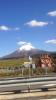 鳥取県伯耆町付近鬼のトイレと大山