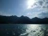 宮島フェーリーからみる風景