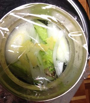 フードコンテナスープ仕込み