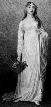Mary Catherine Bolton as Ophelia 1813