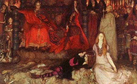 The Play Szene in Hamlet Abbey Edwin Austin