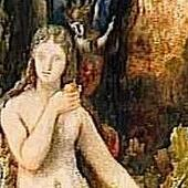 Gustave Moreau - Eve unknown