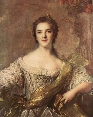 Madame Victoire of France (1733-1799) 1748 Jean marc nattier Musée national du Château et des Trianons