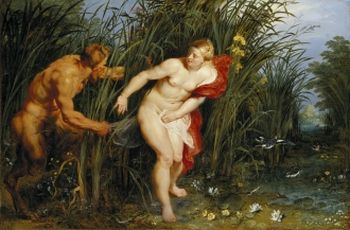 Jan Brueghel the Elder,Peter Paul Rubens -  Pan und Syrinx