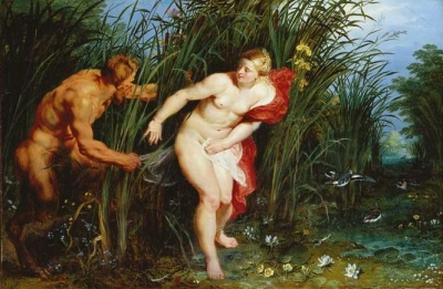 Jan Brueghel the Elder,Peter Paul Rubens Pan und Syrinx, um 1617