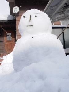 雪だるさん