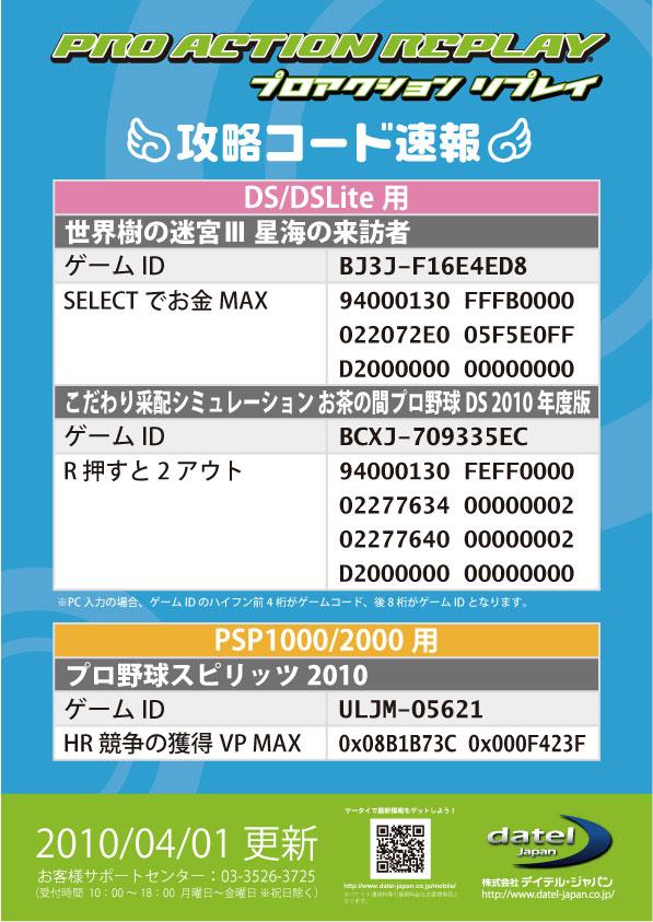秘技コード0402