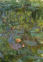 Waterlilies 1914 - 17 Museum of Modern Art, Gunma, Japan