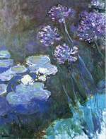 Waterlilies and Agapanthus 1914 - 17 Albright-Knox Art Gallery, New York State