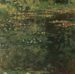Claude Monet : Pool With Waterlilies, 1904