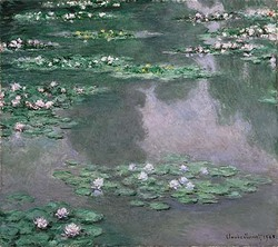 Water Lilies 1905 museum of fine Arts, Boston