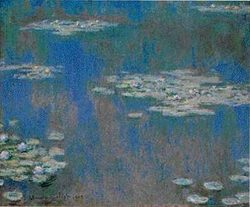 Waterlilies 1905 National Museum of Wales, Cardiff, GB