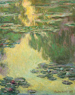 Water lilies, 1907 Kawamura Memorial Museum of Art, Japan