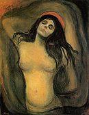 Madonna (1894-5), Edvard Munch