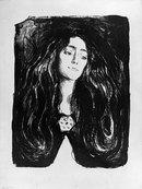 Edvard Munch - Madonna (Eva Mudocci)