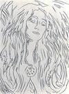 Andy Warhol 「Madonna Eva Mudocci」