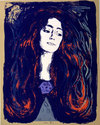 Andy Warhol 「Madonna Eva Mudocci」1983