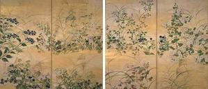 MOA美術館特別展 雪月花  『尾形光琳 秋草図屏風』