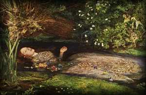Millais, John Everett 1851-52年 Tate Gallery, London