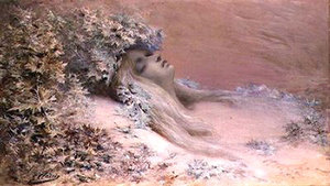 Georges-Jules-Victor Clairin「 Ophelia」 1898年