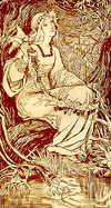 Amelia Bowerley 「Ofelias」1897年