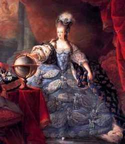 Portrait of Marie Antoinette Queen of France Jacques Fabien Gautier d'Agoty