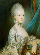 Joseph Ducreux マリー・アントワネット(1769) 14歳のアントワネット