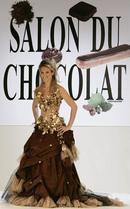 Ouverture du 12e salon du chocolat, sous le signe des quatre saisons (c)AFP (28/10/2006)