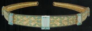 Diadem mit Aquamarinsteinen 1910 von George Fouquet