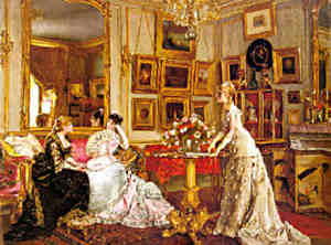 Le salon du peintre 1880