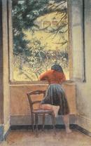 「窓辺の少女」 1955年 プライベートコレクション